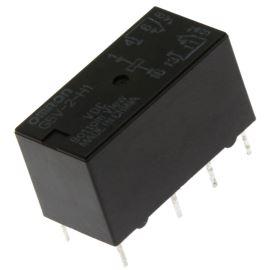 Elektromagnetické relé s DC cívkou do DPS 5VDC 0.5A/125VAC Omron G5V-2-H1 5VDC