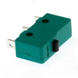 Mikrospínač na faston 3.2mm přepínací 1-pólový ON-(ON) 5A 125/250V AC Jietong  MSW-11