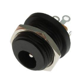 Napájecí konektor souosý 5.5/2.1mm vidlice přímá do panelu se spínačem Cliff FC681473