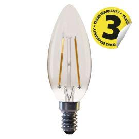 LED žiarovka Vintage Candle 2W / 360 ° teplá biela + E14 / 230V Emos Z74300