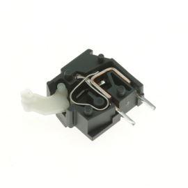 Svorkovnice s tlačítkem do DPS tmavě šedá 250V/16A WAGO 255-742