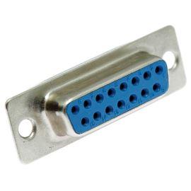 Konektor CANON 15 pinů zásuvka do DPS přímá Xinya 101-15 S C B N S