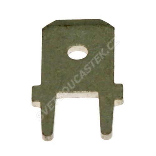 Flachsteckzungen 6,3mm (61-1536-11/0059)