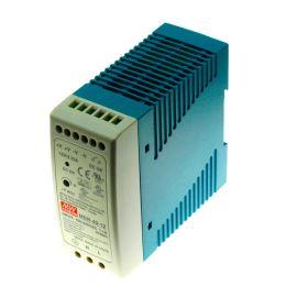 Priemyselný napájací zdroj na DIN lištu 100W 12V / 7.5A Mean Well MDR-100-12