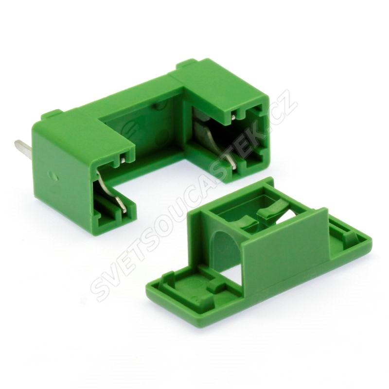 Pouzdro s krytem pro trubičkové pojistky 5x20 mm do DPS Stelvio Kontek PTF78