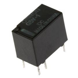Elektromagnetické relé s DC cívkou do DPS 5VDC 0.5A/125VAC Omron G5V-1 5VDC