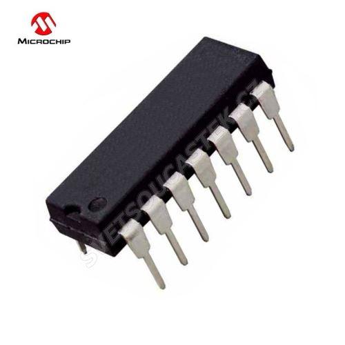 Mikroprocesor Microchip PIC16F676-I/P DIP14