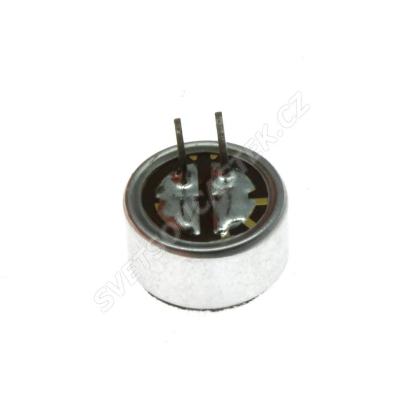Elektretový mikrofon 2.2k ohm 800uA 1.5...10V průměr 9.2mm Loudity LD-MC-0905P