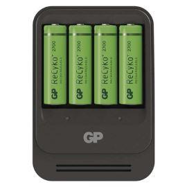 Inteligentní nabíječka baterií GP PB570 + 4AA GP ReCyko+ 2700mAh