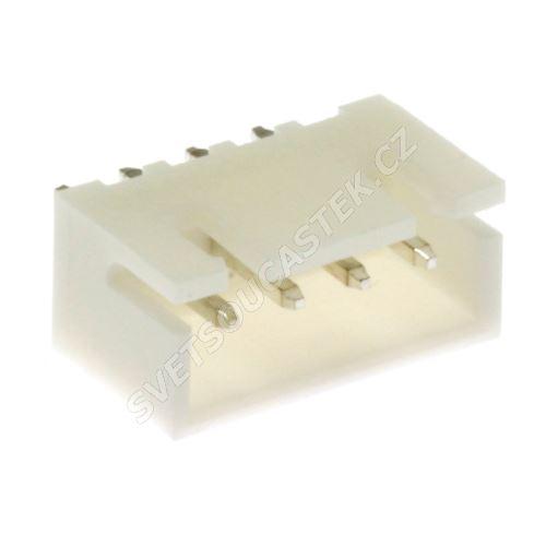 Konektor pro ploché kabely 4 piny (1x4) RM2.5mm do DPS přímý Joint Tech A2501WV-4P