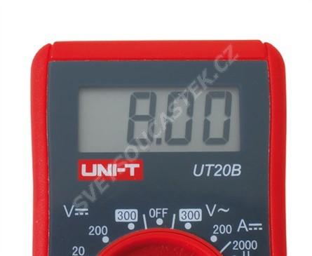 Digitální multimetr UNI-T UT20B