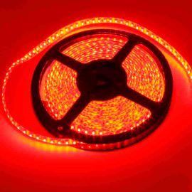 LED pásek červená délka 1 metr, SMD 3528, 120LED/m - vodotěsný STRF 3528-120-R-IP65