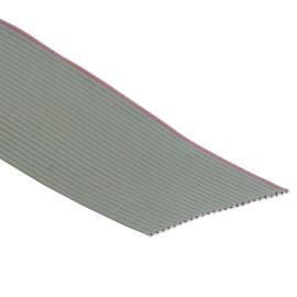Plochý kábel AWG28 25 žil licna rozteč 1,27mm PVC šedá farba