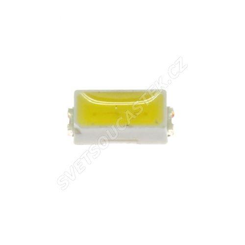 LED SMD PLCC-3014 stud. bílá 4650mcd/120° Hebei PLCC3014-W6