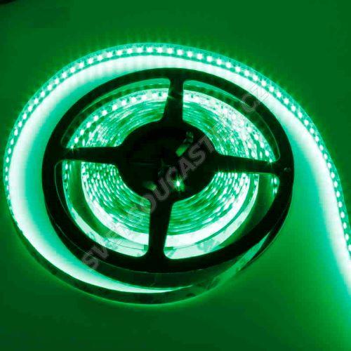 LED pásek zelená délka 1 metr, SMD 3528, 120LED/m - nevodotěsný Hebei STRF4-3528-G120-12V
