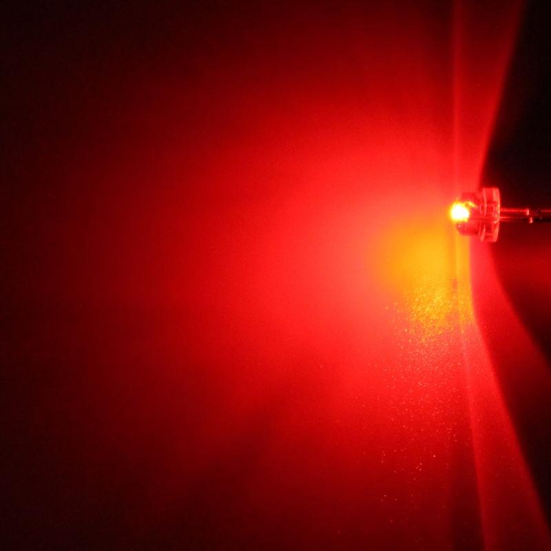 Hebei LED dioda 4.8mm Hebei 412HR3C