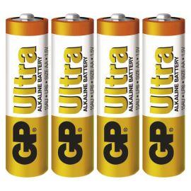 Alkalická batéria GP Ultra LR6 (AA), 4 ks v blistri