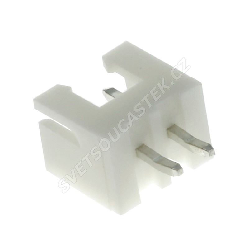 Konektor pro ploché kabely 2 piny (1x2) RM2.5mm do DPS přímý Joint Tech A2501WV-2P