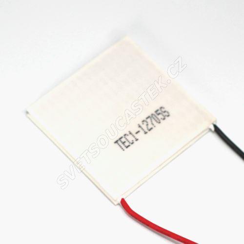 Peltierův článek 57W 40x40mm Hebei TEC1-12705S