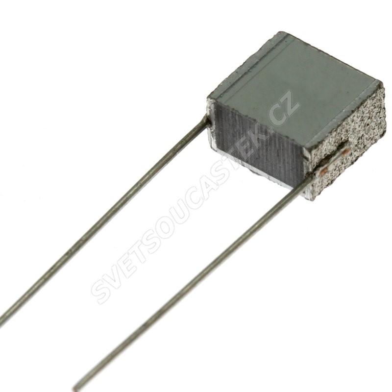 Fóliový kondenzátor 100nF/400V RM 7.5mm 9x7.2x4.4mm Faratronic C252G104J30C000