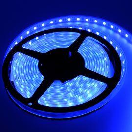 LED pásek modrá, SMD 5050, 60LED/m (balení 5m) - vodotěsný (silikon) STRF 5050-60-B-IP66