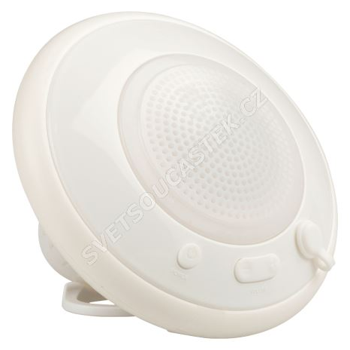 Bluetooth reproduktor plovoucí vodotěsný bílý König HAV-BTFSP100WH