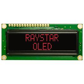 Alfanumerický OLED displej Raystar REC001602ARPP5N00000