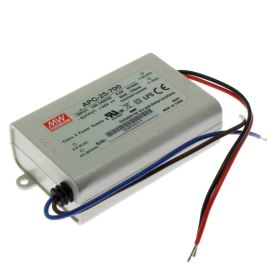 AC/DC LED driver- zdroj konst. proudu (11-36V/700mA) Mean Well APC-25-700