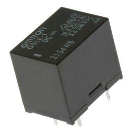 Elektromagnetické relé s DC cívkou do DPS 12VDC 10A/250VAC Omron G5LE-1 12VDC