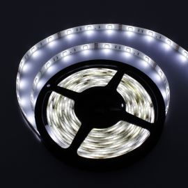 LED pásek studená bílá délka 1 metr, SMD 5050, 30LED/m - vodotěsný (silikagel) - IP65 STRF 5050-30-CW-IP65