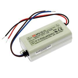 Napájací zdroj pre LED pásky 15W 12V / 1.25A IP30 Mean Well APV-16-12