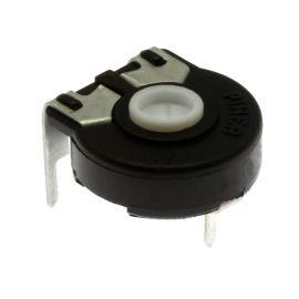 Uhlíkový trimr 15mm lineární 500 Ohm ležatý 20% Piher PT15NV02-501A2020