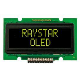 Alfanumerický OLED displej Raystar REC001202AYPP5N00000