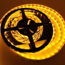 LED pásek žlutá délka 1 metr, SMD 3528, 60LED/m - nevodotěsný Hebei STRF4-3528-Y60-12V