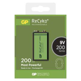 Nabíjacie batérie GP ReCyko+ 200 6HR61 (8,4V), 1 ks v blistri