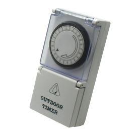 Mechanické spínacie hodiny denné vonkajšie IP44