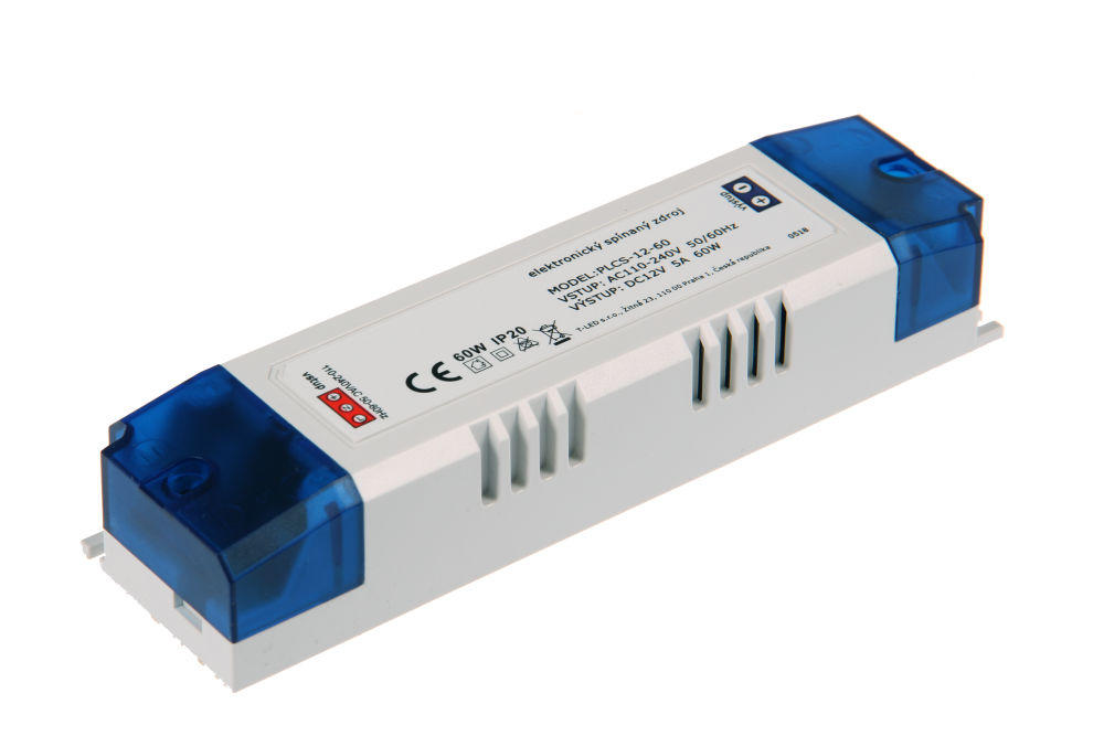 Napájecí zdroj pro LED pásky PLCS-12-60