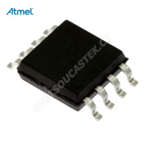 8-Bit MCU AVR 2.7-5.5V 2kB Flash 20MHz SO8-W Atmel ATTINY25-20SU
