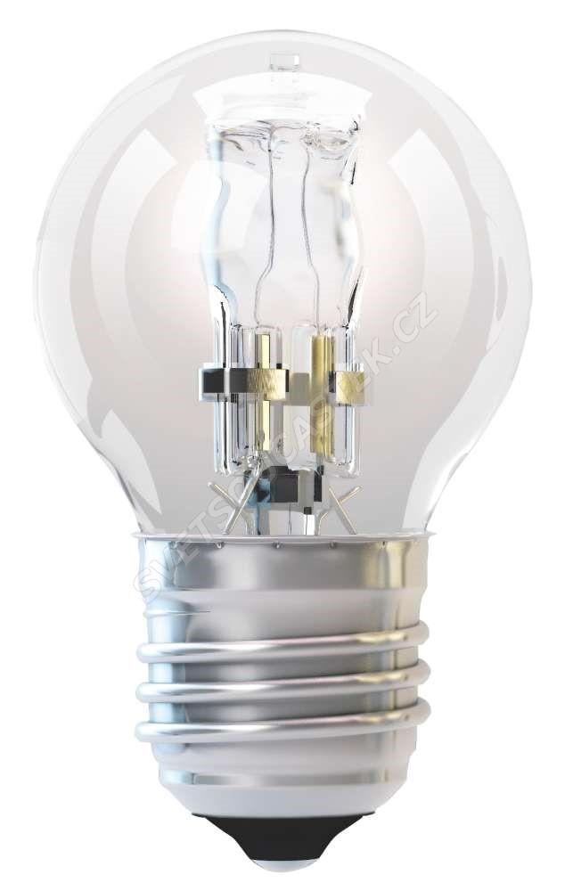 Halogenová žárovka ECO 42W E27/230V MINI GLOBE P45 Emos