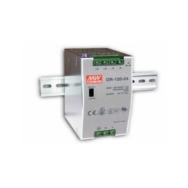 Průmyslový napájecí zdroj na DIN lištu 120W 24V/5A Mean Well DR-120-24