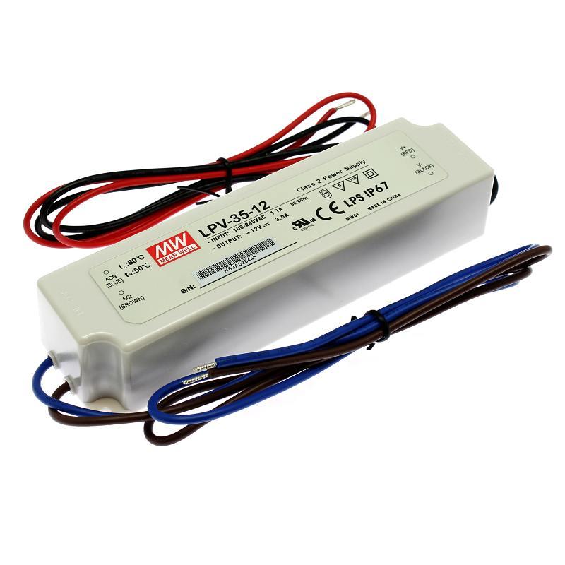 Mean Well Napájecí zdroj pro LED pásky Mean Well LPV-35-12