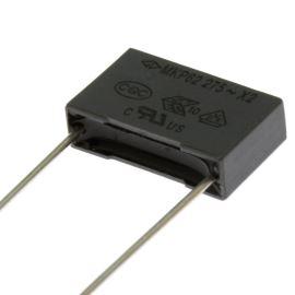 Fóliový kondenzátor odrušovací X2 22nF/275V RM 15mm 17.5x11x5mm Faratronic C42P2223M60C000