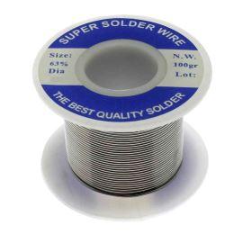 Olovnatá pájka 0.6mm 100g Sn63Pb37E Ku Ping Pure Core Solder Wire