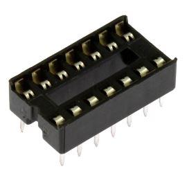 Patice pro IO 14 pinů úzká DIL14 Xinya 125-3-14