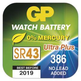 Knoflíková baterie do hodinek GP Ultra 386F