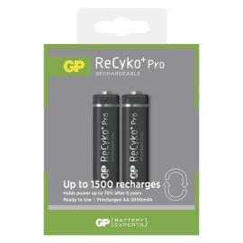 Nabíjecí baterie GP ReCyko+ Pro 2100 HR6 (AA), 2 ks v blistru