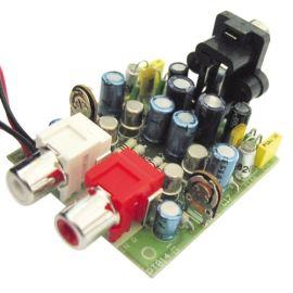 Elektronická stavebnice předzesilovače pro gramofon s magnetodynamickou přenoskou