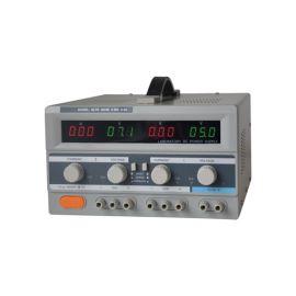 Zdroj laboratorní Geti GLPS 3003E 2x0-30V/ 0-3A+ (5V-3A)