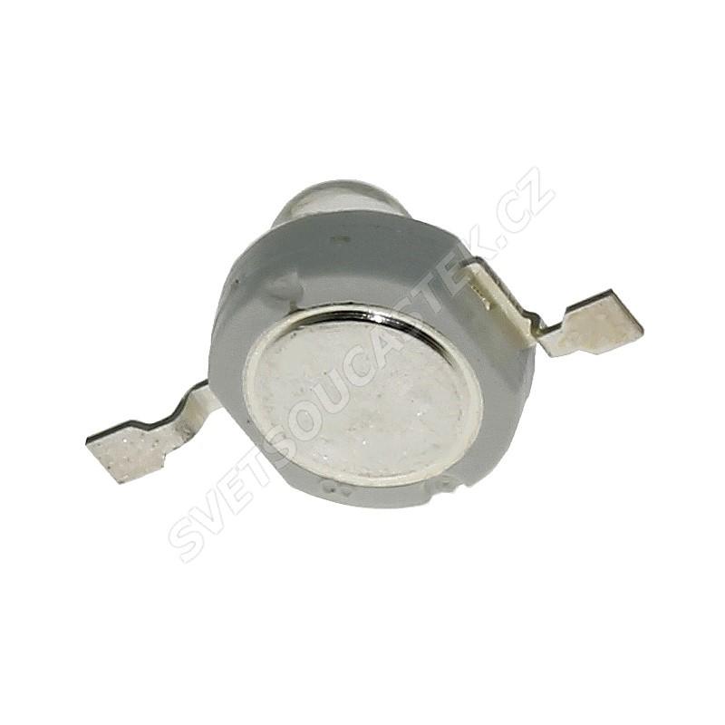 LED 1W oválná modrá 15lm/(160/100°) Hebei E12EB7C-O