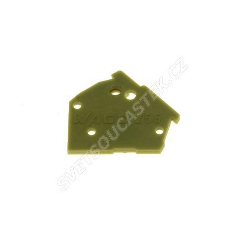 Bočnice pro svorkovnice světle zelená WAGO 256-700